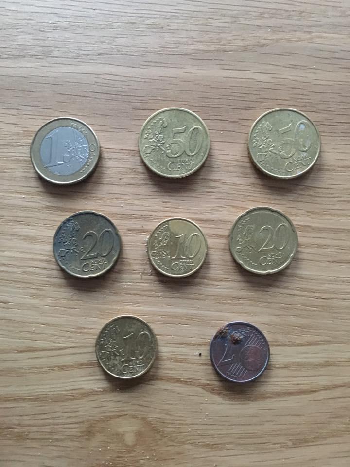 Vondsten April 2017 - euromunten
