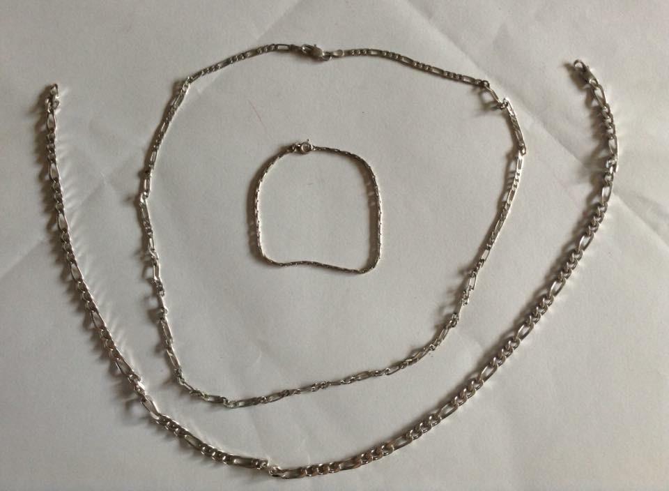 Zilveren kettingen