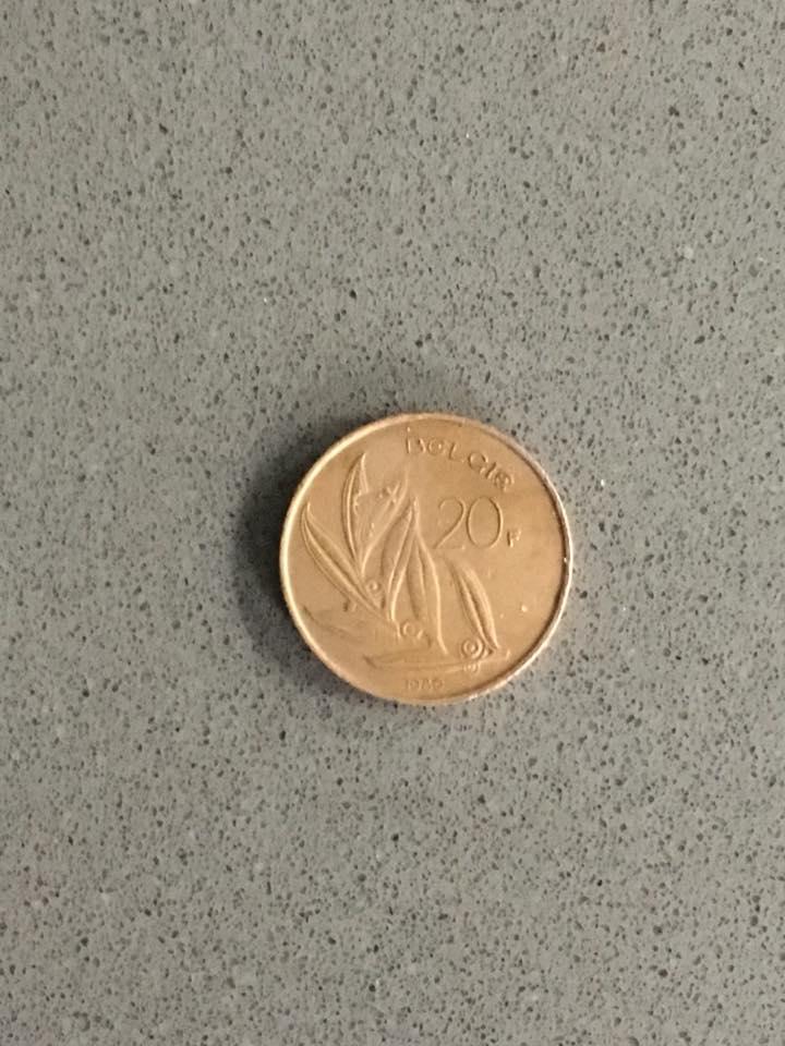 20 Belgische Frank 22122017