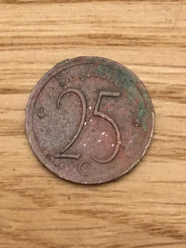25 Belgische Cent 12012018