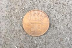 50 Belgische cent