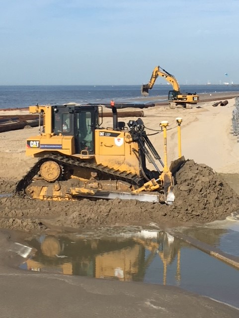 Strandverhogingen en de gevolgen voor de vondsten