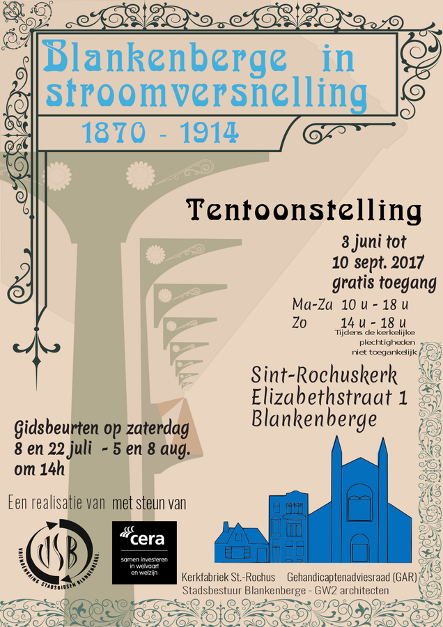 Tentoonstelling: Blankenberge in stroomversnelling