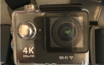 Eerste videoverslag met de 4K ultra HD action camera