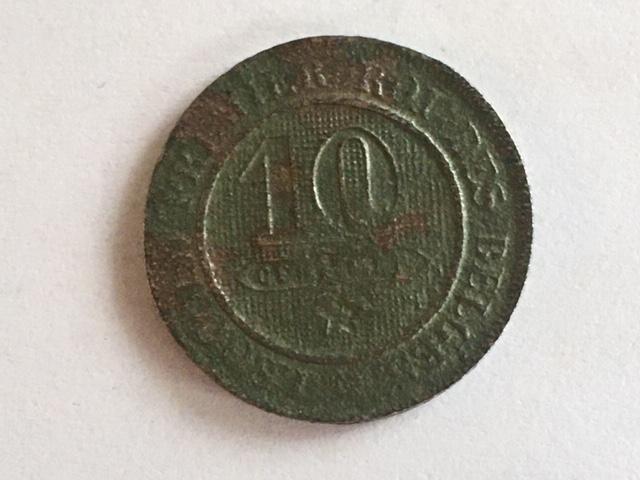 Zoeksessie na stormweer levert 157 jaar oude munt op