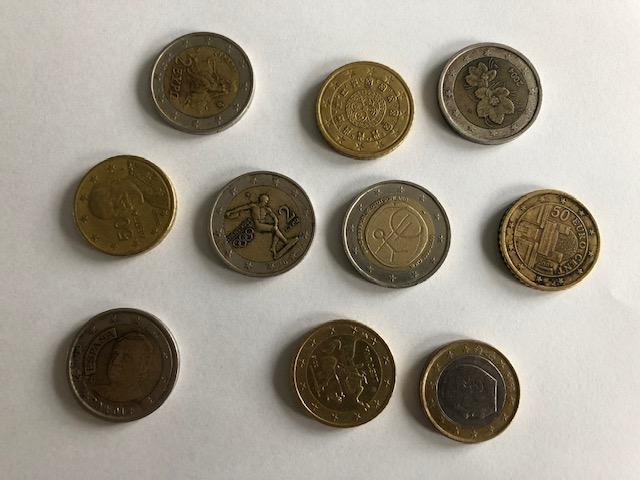 Euromunten anders bekeken
